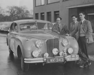 1956 Vard Jolley Millard Jaguar Mk VII