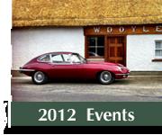 Irish Jaguar Daimler Club Events 2012 Photos
