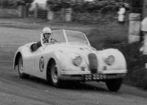 Leslie Spivack XK120 Leinster Trophy Pracrtice 1952