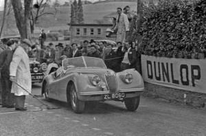 ZLl8060 Frank Bigger  Enniskerry Hillclimb 1952