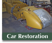 Jaguar car restoration photos