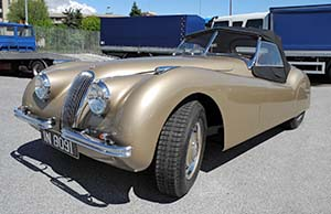 Jaguar XK120  IN8091