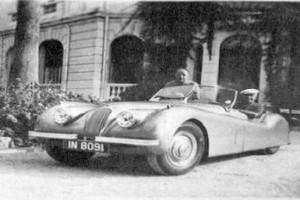 Jaguar XK120 ArthurWhite