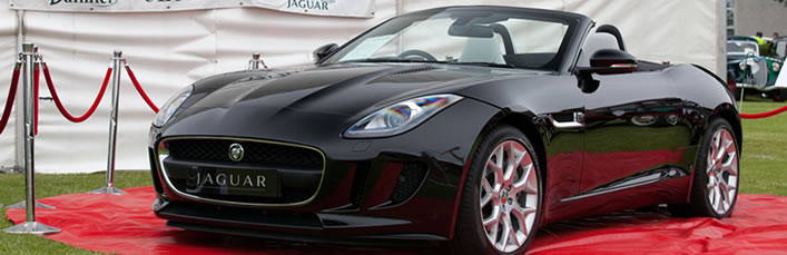 Jaguar Ftype V6 at the 2013 Terenure Car Show