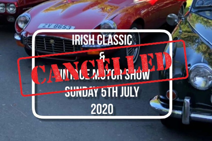 2020 Terenure Show Cancelled